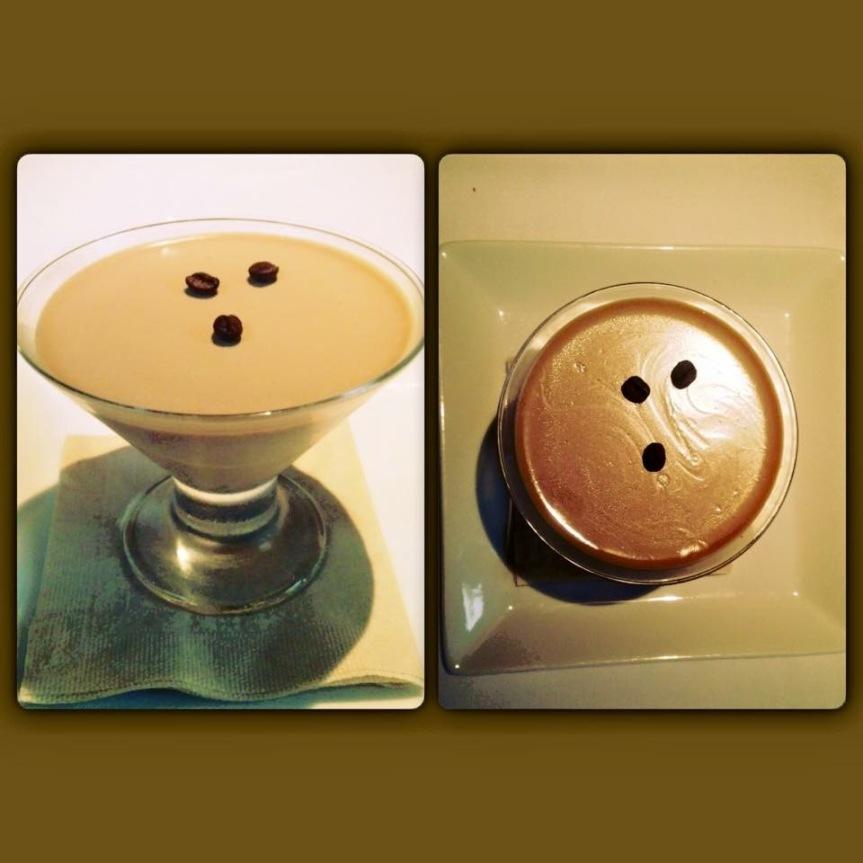 Panna Cotta al cafe